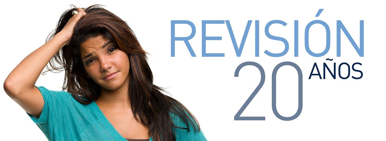 Revisión ginecológica, 20 años. Tu primera consulta ginecológica.