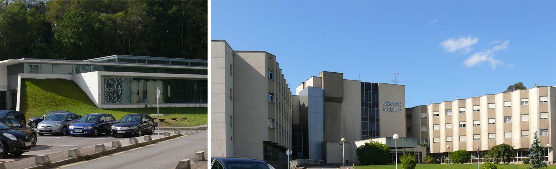 Centro Medico Asturias. Cabecera de contacto