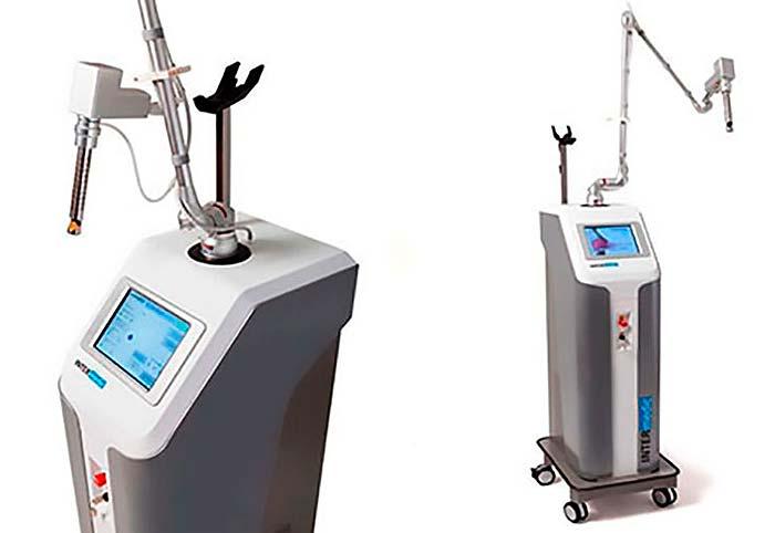 laser ginecológico, imagen de los elementos