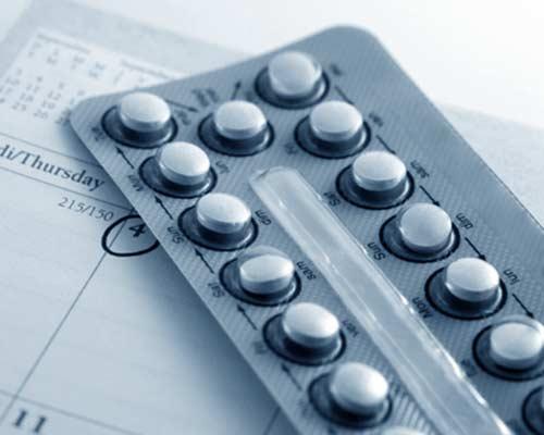 ovarios poliquisticos, imagen píldoras