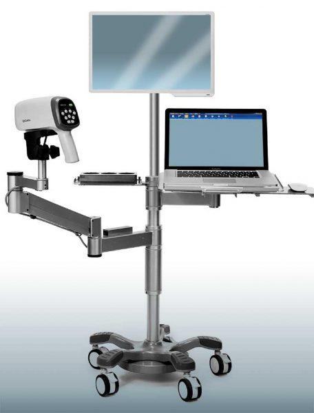 colposcopia, luciaviorginecologa, vista del colposcopio