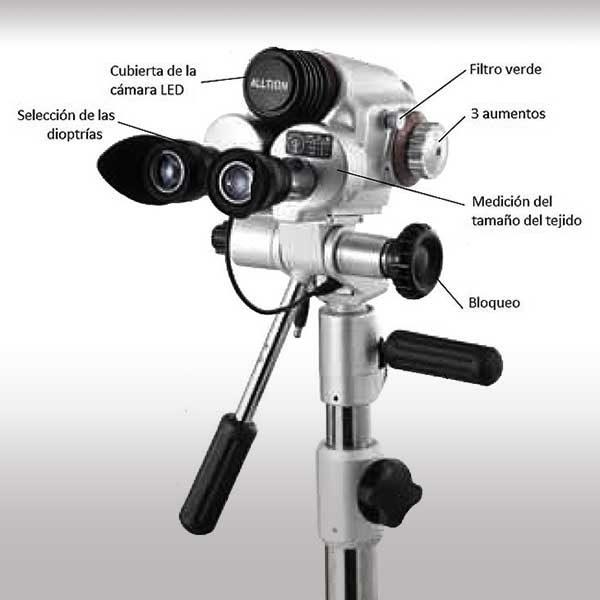colposcopia, luciaviorginecologa, vista de componentes.